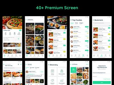Capi Restaurant #Appdesign UI Kit creative mobile design mobile app app design top vietnam designer uiux ui kit ui design