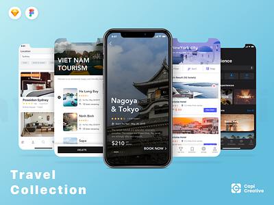 Capi's Generation - Travel Collection Kits top vietnam ui designer ios app mobile app design mobile app app design profesional clean creative cloud uiux ui design travel app