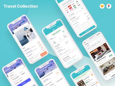 Hotel Booking App UI Kits - Vivu and Cahotel ui kit creative top vietnam designer uxdesign uidesign ui ux clean creative agency ios app app screen travel