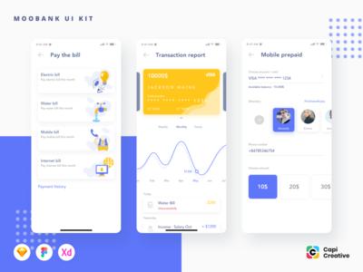 Moobank - Banking App UI Kit