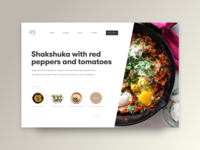 UI Daily - Food Blog