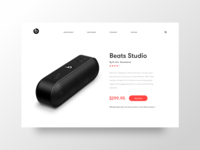 UI Daily - Beats by Dr. Dre