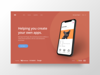 App Builder website