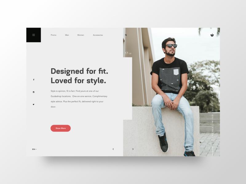 Tshirt Boutique uxdesigner uidesigner uidesign ux ui ecommerce webapp webdesign website fashion shirt tshirt