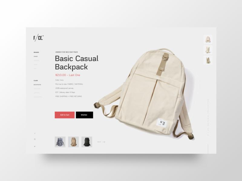 Bag Boutique / Ecommerce ecommerce shop minimalist uxdesigner uidesigner ux ui ecommerce design webdesign website shopping app bag ecommerce