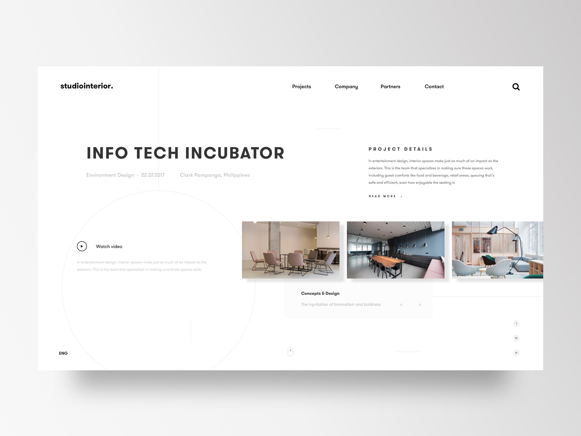 Interior Design U0026 Architecture Studio Website