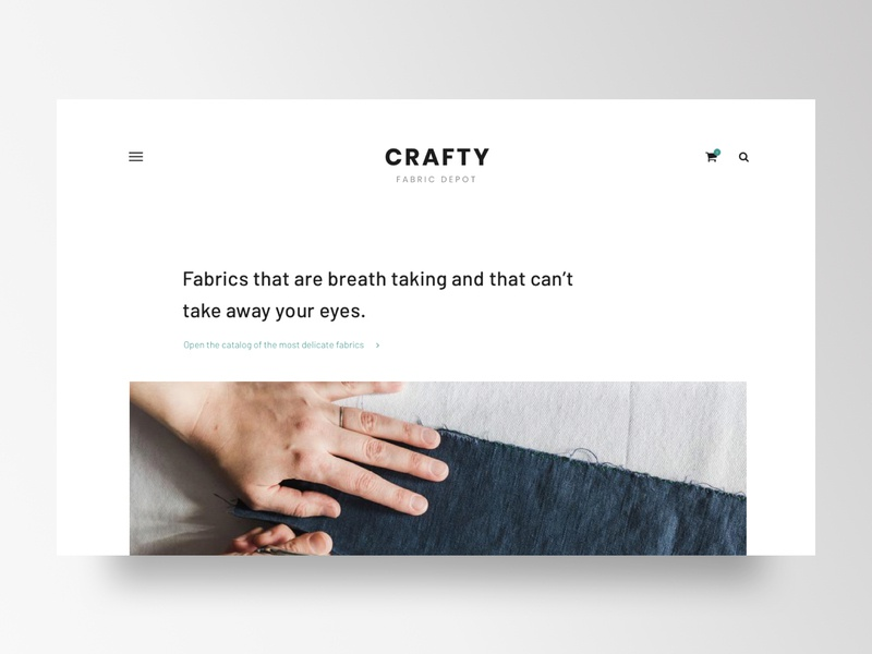 Taylor and Fabric Website visualdesign designer ux ui dashboard trending trend silkscreen print fashion fabric creative