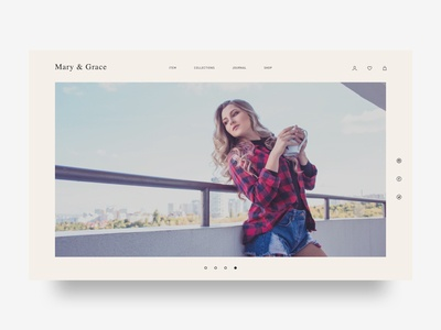 Ecommerce Website for Fashion wears