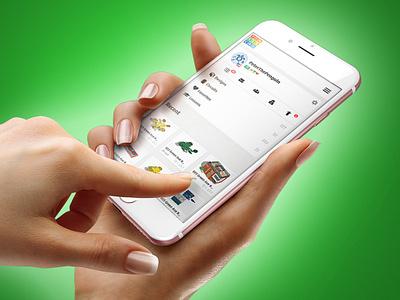 Tinkercad Mobile Dashboard mobile design ux ui autodesk 3d design visual design