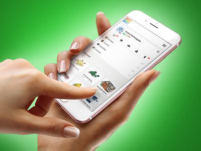 Tinkercad Mobile Dashboard