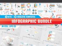 Awesome Infographics Templates Bundle