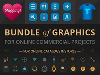 Awesome Graphics for Online Commercial Projects