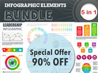 5 Incredible Infographic Templates – only $10!