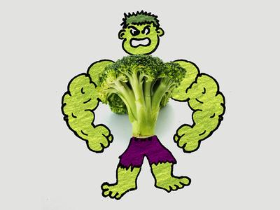 Hulk & Broccoli