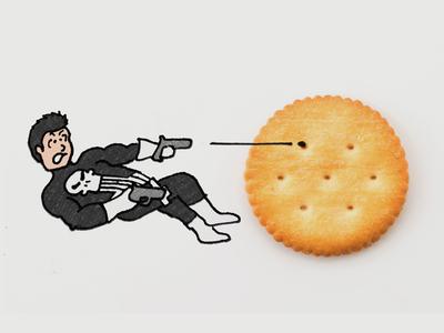 The Punisher & Ritz Crackers