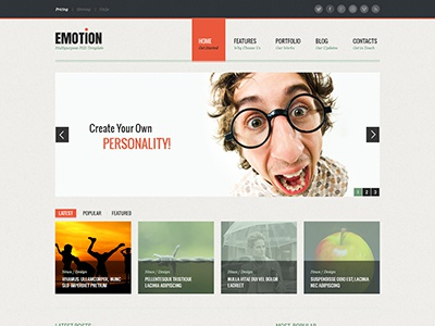Emotion Home Page