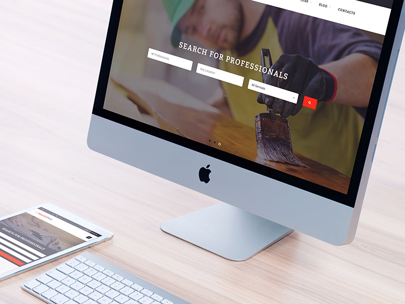 Handyman - Job Board HTML Template by Dan Fisher on Dribbble