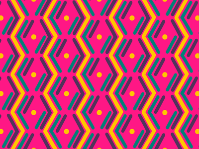 100 days of prints and patterns [61] bright geometric design geometric pattern wallpaper vector pattern design surface design print graphic digital colorful