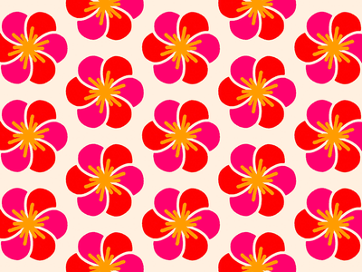 100 days of prints and patterns [66] flower floral graphic design pattern vector pattern design surface design print graphic digital colorful