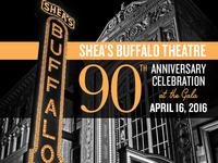 Shea's 90th Anniversary Branding