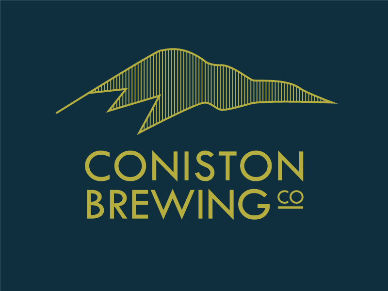 Coniston Brewing Co illustration label brewery branding brand beer