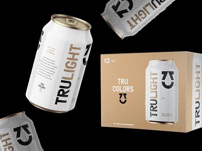 TRU Colors Packaging logo print identity typography design packaging branding