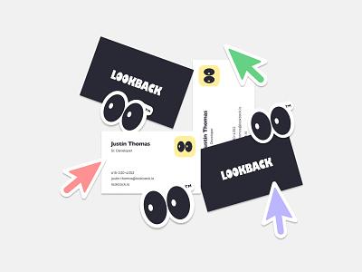 Lookback ux vector ui illustration identity web design icon logo branding