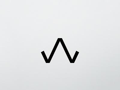 W, 36 Days Of Type 2017 36 days of type shape line icon graphic alphabet letter minimalist minimalism design type typography