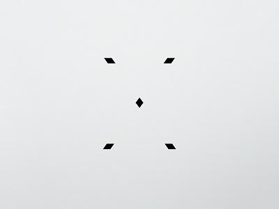 X, 36 Days Of Type 2017 36 days of type shape line icon graphic alphabet letter minimalist minimalism design type typography