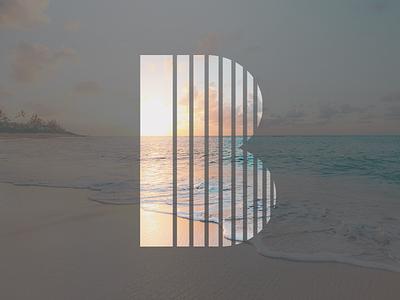 36 Days Of Type 2018 - B 36 days of type shape graphic alphabet letter minimalist minimalism geometric design type typography art