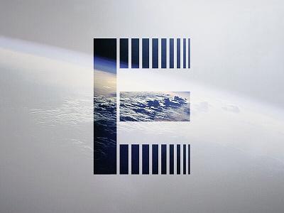 36 Days Of Type 2018 - E art typography type design geometric minimalism minimalist letter alphabet graphic shape 36 days of type