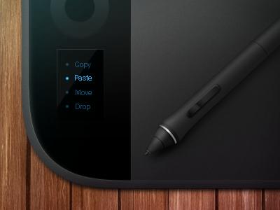 Wacom icon wacom icon pen tablet illustration wood plastic