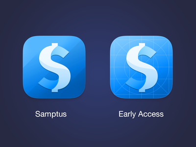 Daily expense tracker - Samptus sumptus startup money finance early access ios app icon