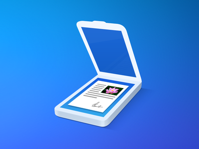 Scanner Pro 7 ocr readdle document application ios icon pro scanner