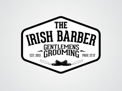 Irish Barber Badge