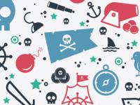 Pirate Pattern 2