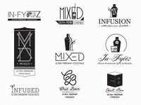Ultra-Premium Cocktails Logos