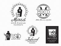 Ultra-Premium Cocktails Logos - Round#2