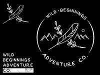 Wild Beginnings Adventure Co. - Logo WIP