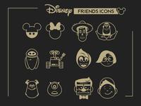 Disney Friends Icons