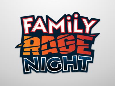 Family Rage Night Logo