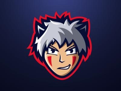 Hedi - Anime Mascot Logo