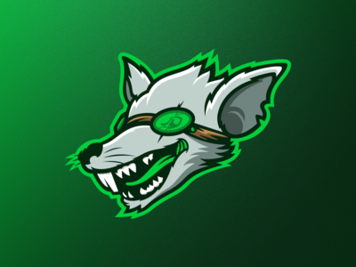 F1lthyRat Mascot Logo