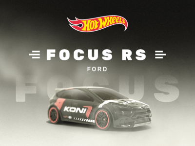 Ford Focus RS ui toy photoshop focus ford interface hotwheels car