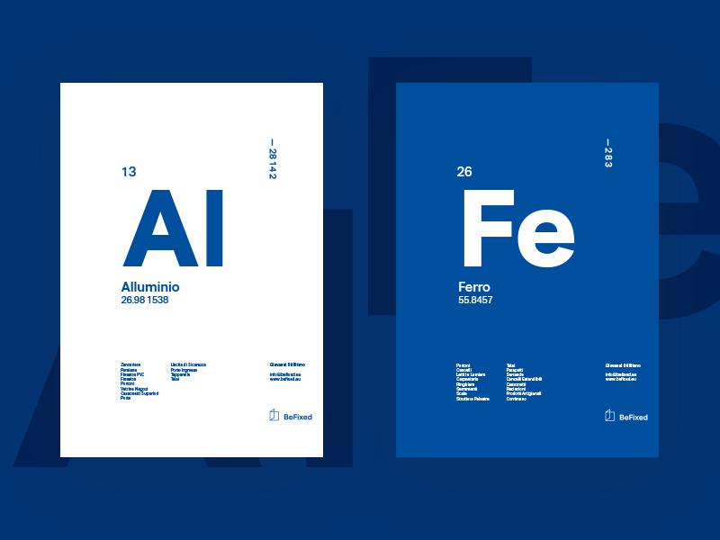 BeFixed Poster poster swiss graphic chemistry branding ui poster fixed window