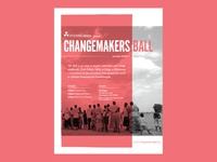 Changemakers Ball Invite