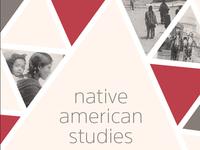 Native American Studies postcard
