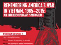 Vietnam War & Memory Main Poster300