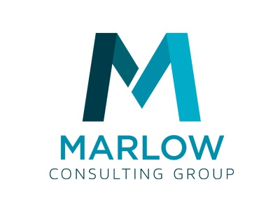 Marlow Logo and Business card business card color change m custom letter logo