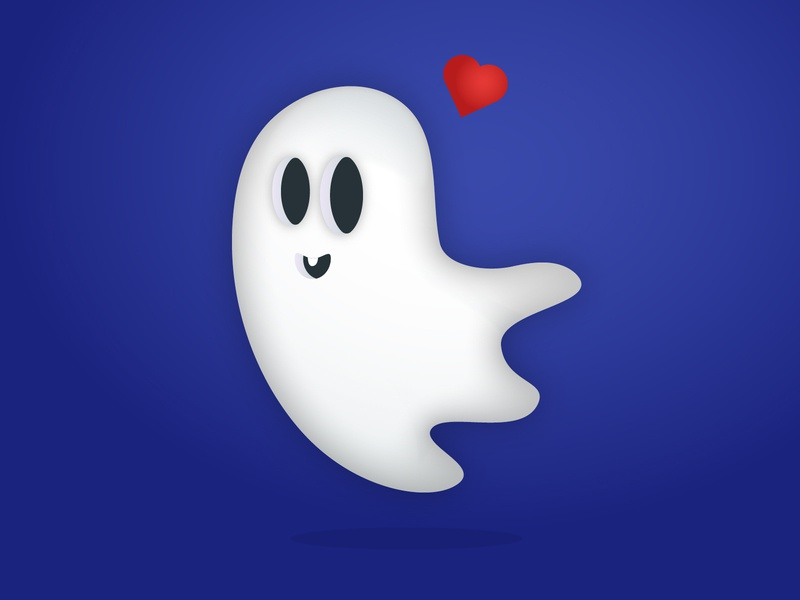 Boo icon mood trick or treat love ghosh vector boo graphicdesign halloween flat design illustration